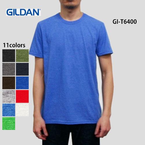 c8b6902f29e56 4.5oz ソフトスタイ リングスパンTシャツ(GILDAN ギルダン)ソフトな生地感と若干タイトなシルエットが今の定番4.5oz ソフトスタイル Tシャツ