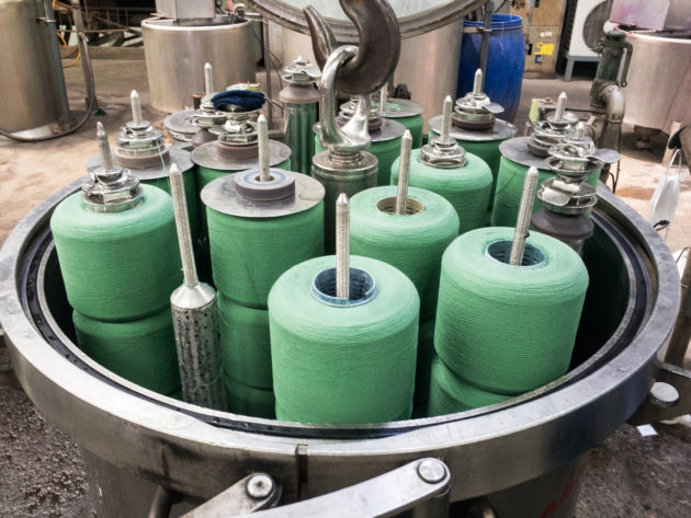 Machines for dyeing industry.Textile Industry, Dyeing Machine Chemical Tanks